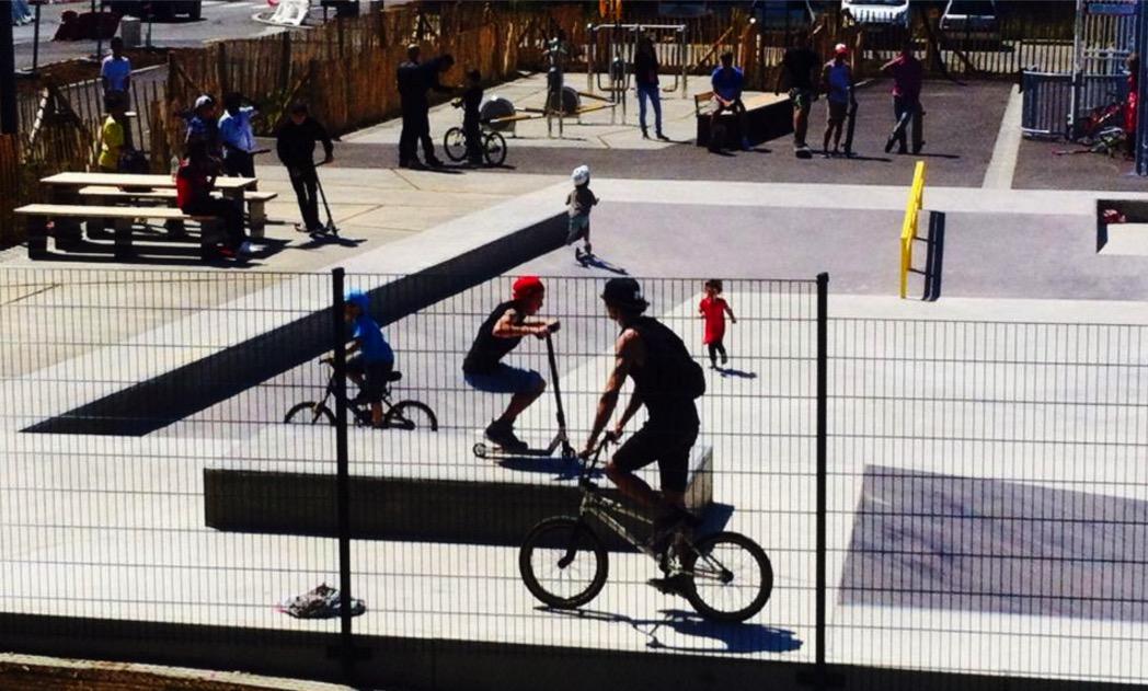 streetpark skatepark balzac saint-brieuc